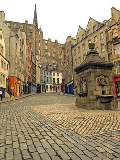 Edinburgh. We walked past this site several times a day.