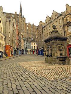 The Grassmarket, Edinburgh, Scotland