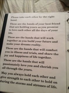 Take a look at the best blended family wedding vows in the photos below and get ideas for your wedding!!! http://www.facebook.com/weddings4u Wedding Officiant – Milwaukee & Local Areas http://www.JewelOlson.webs.com Image source