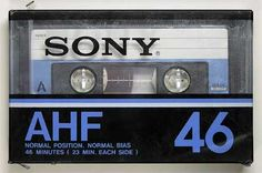 SONY/AHF/パッケージ Casette Tapes, Sony Design, Sony Electronics, 1970s Cartoons, Tape Recorder, Philips, Time Capsule, Audio Equipment, Vinyl Records