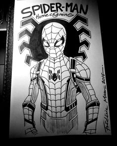 SPIDER-MAN HOMECOMING by Frederic-Mur.deviantart.com on @DeviantArt