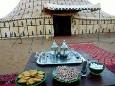 My kind of camping! M'hamid, Morocco