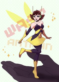 The Wasp and Ant-man (Puttin' this on the Wasp board, because she's the adorable little star!)