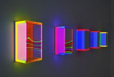 Regine Schumann. Light art installation. lichtkunst.