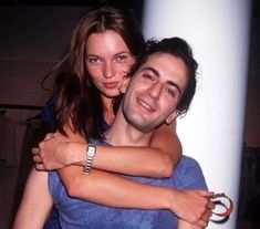 92baccc3edb  Kate Moss and Marc Jacobs at the Louis Vuitton Soho store opening. Photo by