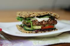 Lunch! Raw Sun Burgers - Thanks Ani