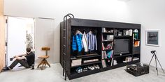 Compact Living Cube Multi-Functional Furniture and Storage