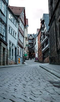 Streets of Marburg, Hesse, Germany | by StephanK383