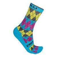Castelli Diverso Socks - Pink/Blue Sale $15.99 Save 20% Regular $19.99 - GoodyFinder.com