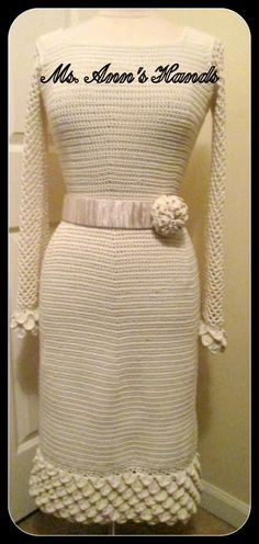 CHIC CROC DRESS Special Order by MsAnnsHands on Etsy, $400.00