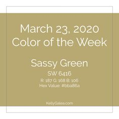 Forecast for the Week of March 23, 2020 - Through the Kaleidoscope with Kelly Galea