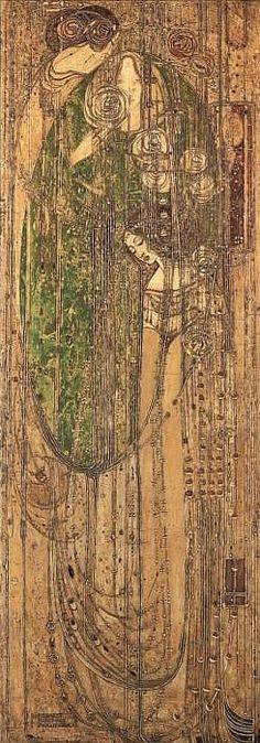 Willowwood 1903 - Watercolour - Margaret MacDonald