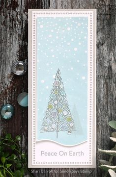 Christmas Cards 2018, Stamped Christmas Cards, Christmas Greeting Cards, Holiday Cards, Christmas Ideas, Karten Diy, Winter Cards, Do It Yourself Home, Card Envelopes