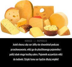 Świetny sposób na przedłużenie świeżości sera żółtego.