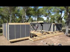 Watch this passive PopUp House snap together like LEGOs | Inhabitat - Green Design, Innovation, Architecture, Green Building
