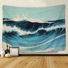 Tapestry Nature, Tapestry Bedroom, Tapestry Wall Hanging, Indian Tapestry, Hanging Art, Blue Tapestry, Trippy Tapestry, Tapestry Beach, Wall Hangings
