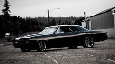 Muscle Cars Black and White