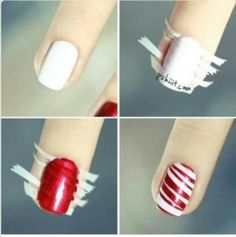 Fun holiday nails