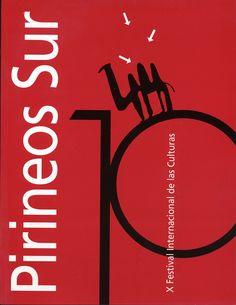 Cartel Pirineos Sur 2001 (edicion X)
