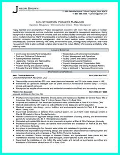 cool perfect construction manager resume to get approved check more at httpsnefciorgperfect construction manager resume get approved pinterest