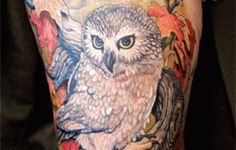 girl thigh tattoos