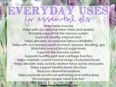 Everyday Uses for Essential Oils