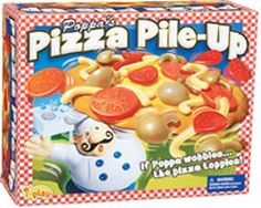 The Playful Otter: Pizza Pile-Up