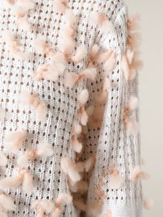 Chloé Pompom Detail Sweater - O' - Farfetch.com
