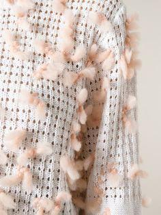 Chloé Pompom Detail Sweater - O' - Farfetch.com