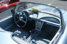1958 - Chevrolet Corvette - interior
