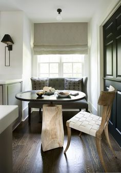 Breakfast Room Contemporary Rustic by Amy Morris