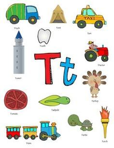 letter t words google search