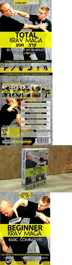 DVDs Videos and Books 73991: Total Krav Maga: Complete 5 Dvd Set - Combatives, Home Drills, Weapons, Ground BUY IT NOW ONLY: $79.99