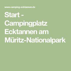 Start - Campingplatz Ecktannen am Müritz-Nationalpark