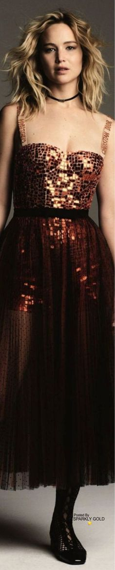 Jennifer Lawrence/Harper's Bazaar Taiwan Mar 18