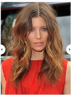 Jessica Beil; perfect messy waves