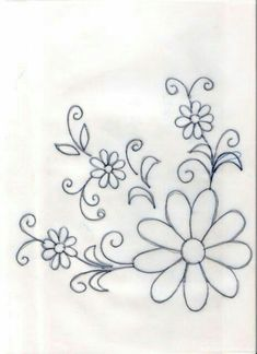 Drawings to embroider or paint tablecloths- Dibujos para bordar o pintar manteles Drawings to embroider or paint tablecloths - Mexican Embroidery, Crewel Embroidery, Hand Embroidery Patterns, Ribbon Embroidery, Cross Stitch Embroidery, Cross Stitch Patterns, Machine Embroidery, Simple Embroidery, Flower Patterns