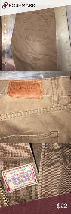 Polo Ralph Lauren 5 pocket chino pant Worn but good condition. No rips, tears, or stains. 36x32 Polo by Ralph Lauren Pants Chinos & Khakis