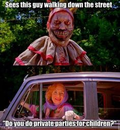Twisty the Clown and Dandy's Mother
