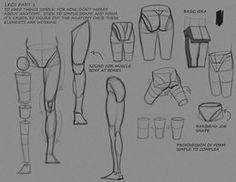 Simple Leg Notes P1 by ~FUNKYMONKEY1945 on deviantART