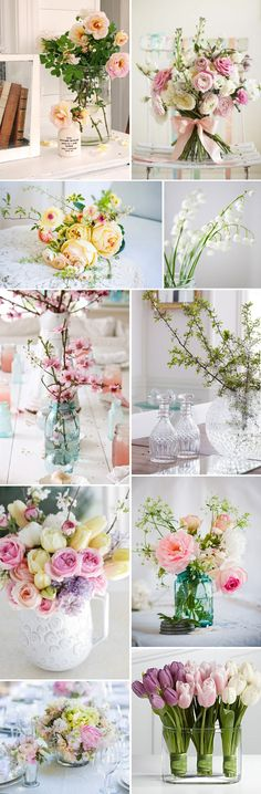 Spring wedding is what I want. Tulips?! Absolutely yes. Tulips, Lillie's, and poppy seed flowers= my favorites <3