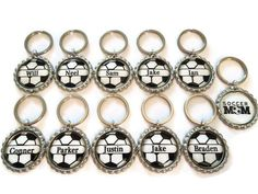 TEAM GIFT Set of 10 Plus FREE Team Mom Keychain  by AllSports, $30.00