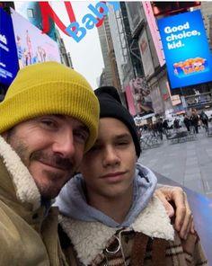 Selfie David And Romeo