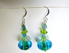 Seaside Dangles by cynpattyco on Etsy