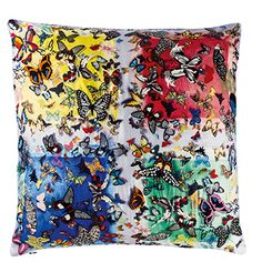 Christian Lacroix butterfly print silk..... Pure luxury