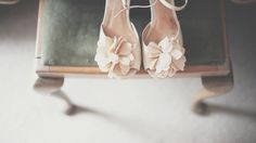 Pink peep toe sandals with flower detail | Images by http://www.costasisterproductions.co.uk/