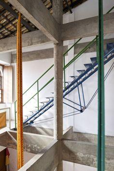 escada, casa do benim, salvador, lina bo bardi, 1987