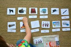 CVC Phonetic Reading Cards - Trillium Montessori (via TPT download), 3. Phonetic Picture Cards Level 1 - Montessori Print Shop (download) and 4.