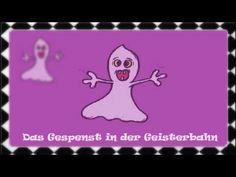 ▶ Kinderlied: das Gespenst in der Geisterbahn - YouTube