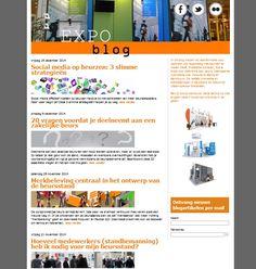 Tekstschrijven voor weblog, coordineren vertalingen - Expo Display Service